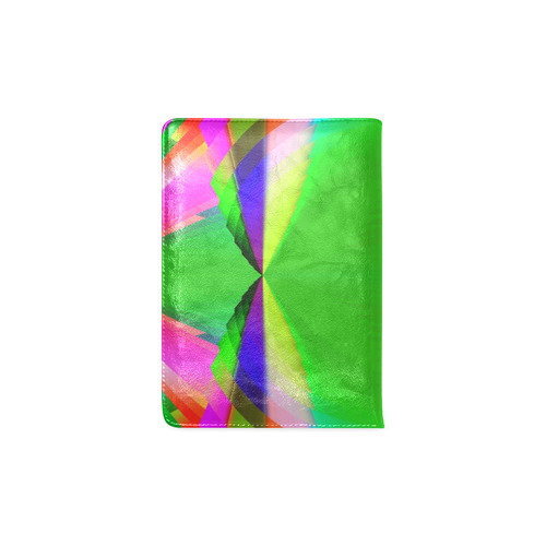 Multicolor Shimmering Fractal Design Custom NoteBook A5