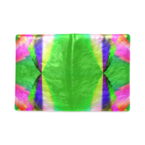 Multicolor Shimmering Fractal Design Custom NoteBook B5