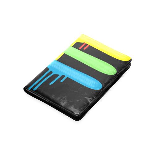 Rainbow Strokes of the Brush Custom NoteBook A5