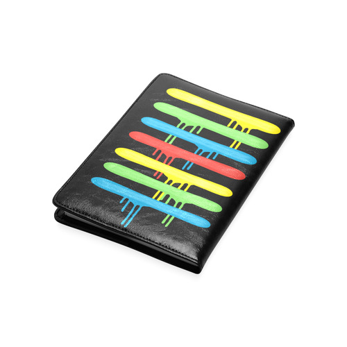 Rainbow Strokes of the Brush Custom NoteBook A5