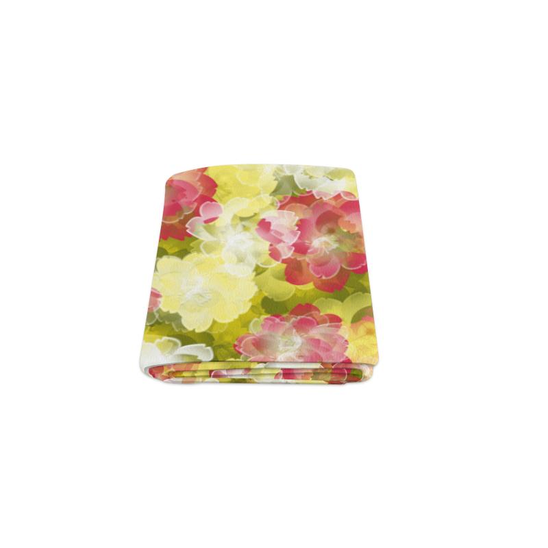 """Flower Power Blossom Blanket 40""""x50"""""""