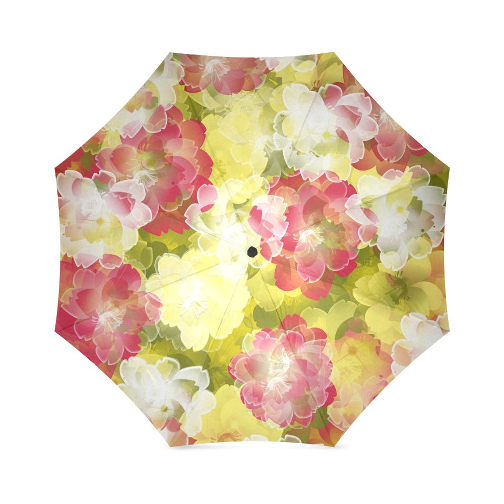 Flower Power Blossom Foldable Umbrella (Model U01)