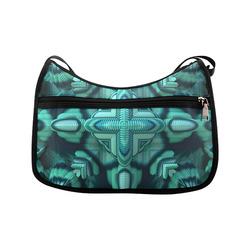 Cool Mint Crossbody Bags (Model 1616)
