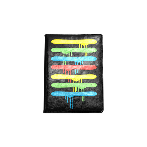 Rainbow Strokes of the Brush Custom NoteBook B5