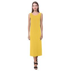 Freesia Phaedra Sleeveless Open Fork Long Dress (Model D08)