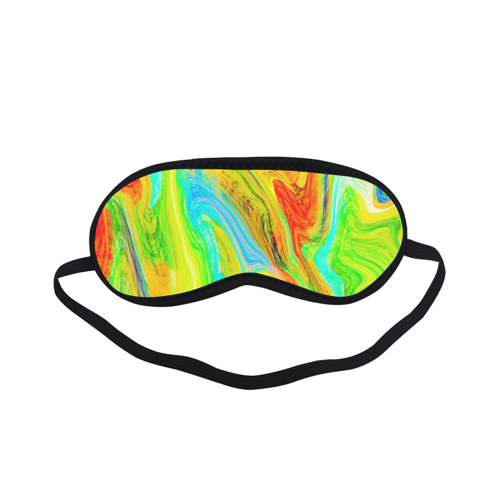 Happy Multicolor Painting Sleeping Mask