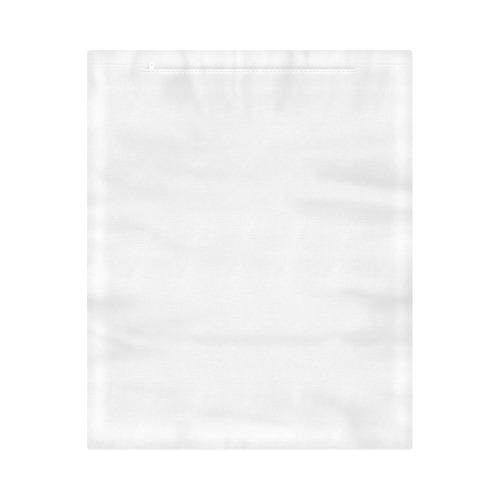 "Vintage Pink White Teal Floral Wallpaper Pattern Duvet Cover 86""x70"" ( All-over-print)"