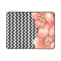 """flower power Beach Mat 78""""x 60"""""""