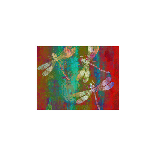 """A Dragonflies Poster 11""""x8.5"""""""