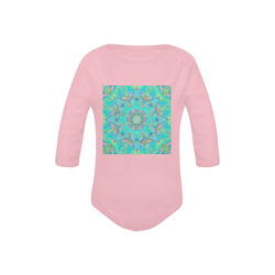 plume 8 Baby Powder Organic Long Sleeve One Piece (Model T27)