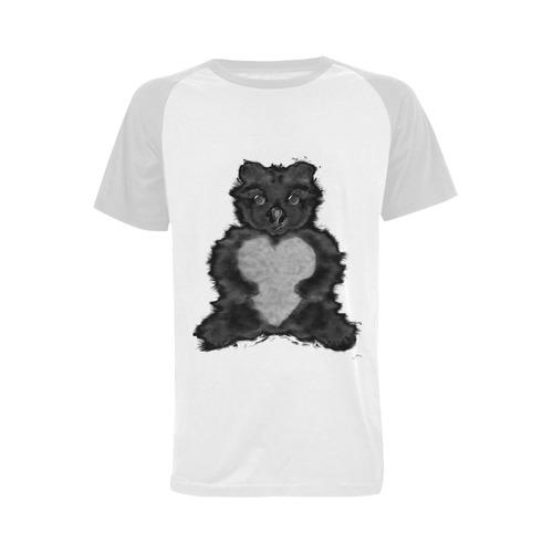 ecureuil 6 Men's Raglan T-shirt Big Size (USA Size) (Model T11)