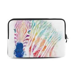 watercolor rainbow zebra Macbook Air 11''