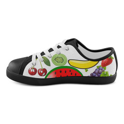 Summer Fruits Canvas Kid's Shoes (Model 016)