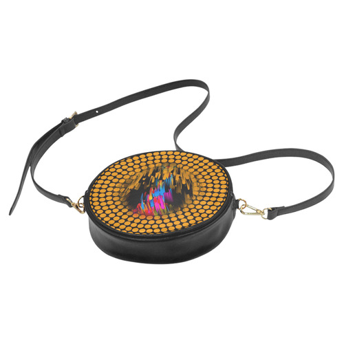 Bang Point by Artdream Round Sling Bag (Model 1647)