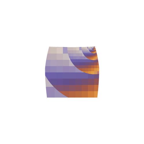 Desert Rose Pixel Play Sunrise Spiral Nemesis Skirt (Model D02)