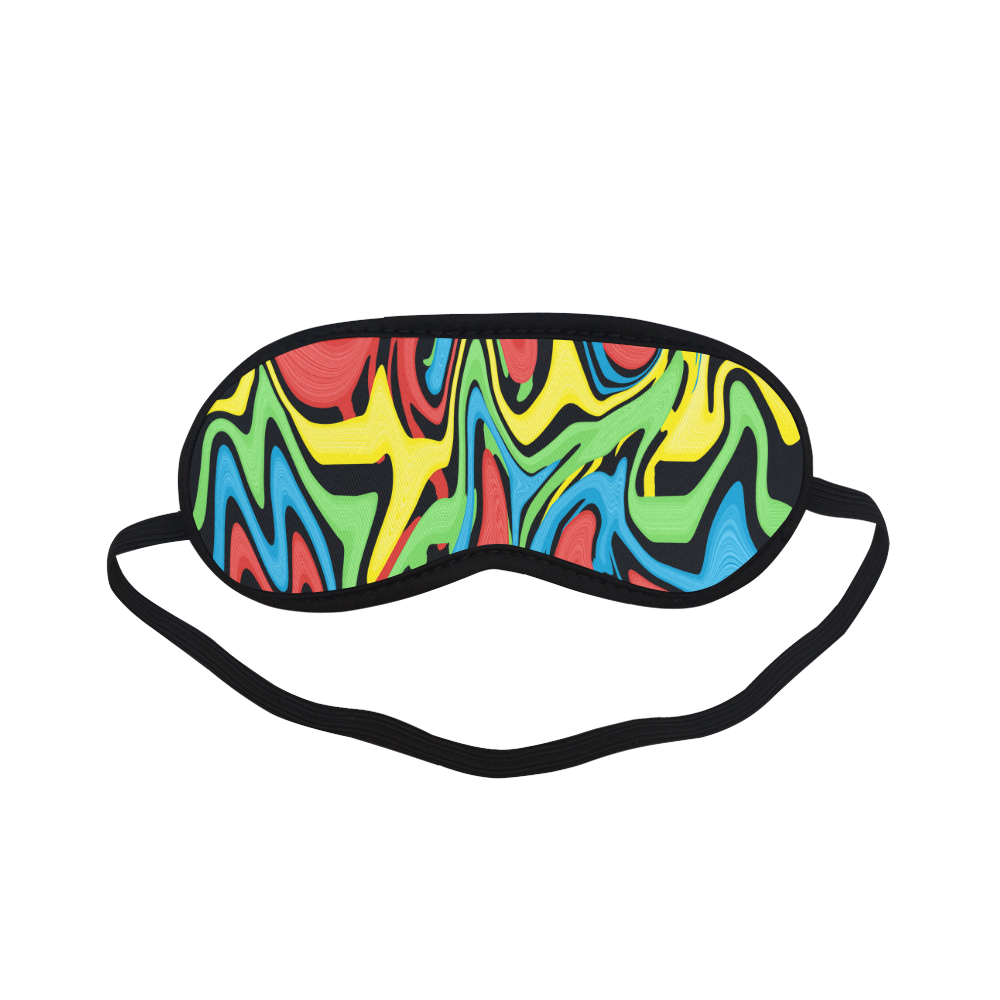 Swirled Rainbow Sleeping Mask