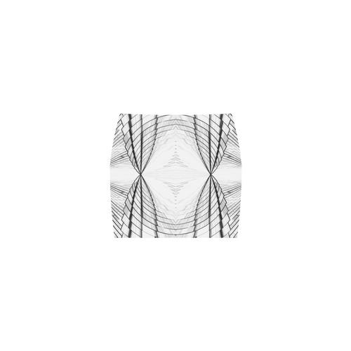 Abstract Fractal Outline Nemesis Skirt (Model D02)