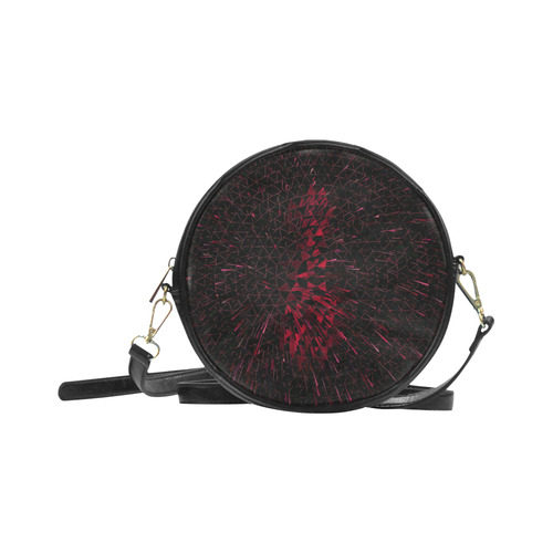 Space Explosion by Artdream Round Sling Bag (Model 1647)