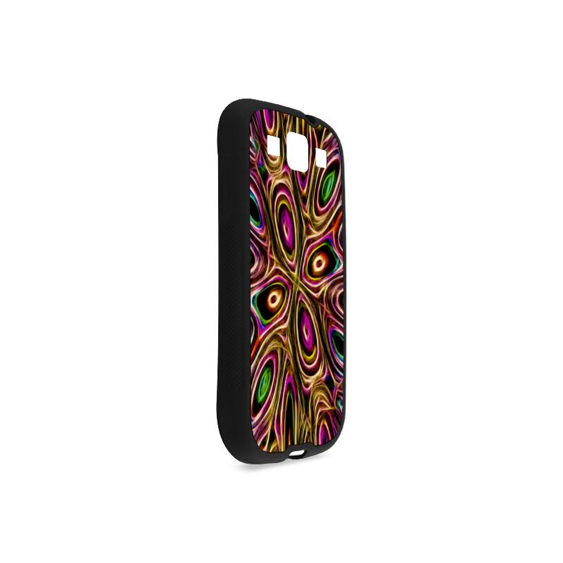Peacock Strut II - Jera Nour Rubber Case for Samsung Galaxy S3