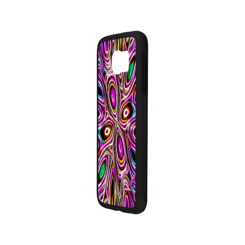 Peacock Strut I - Jera Nour Rubber Case for Samsung Galaxy S6