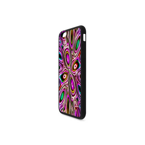 Peacock Strut I - Jera Nour Rubber Case for iPhone 6/6s Plus