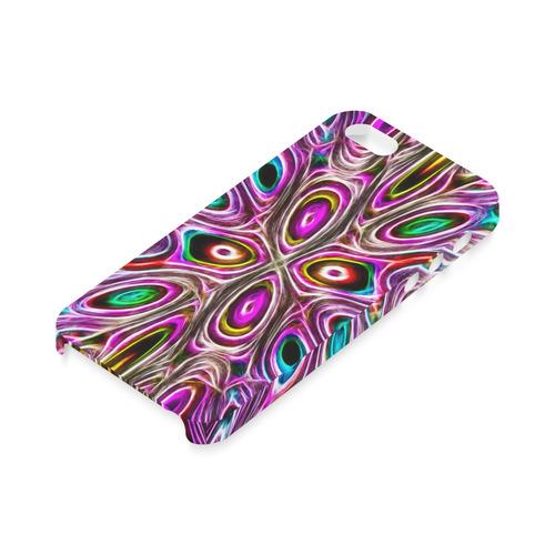 Peacock Strut I - Jera Nour Hard Case for iPhone SE