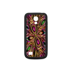 Peacock Strut II - Jera Nour Rubber Case for Samsung Galaxy S4 mini