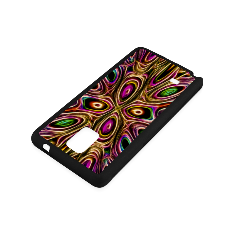 Peacock Strut II - Jera Nour Rubber Case for Samsung Galaxy Note 4