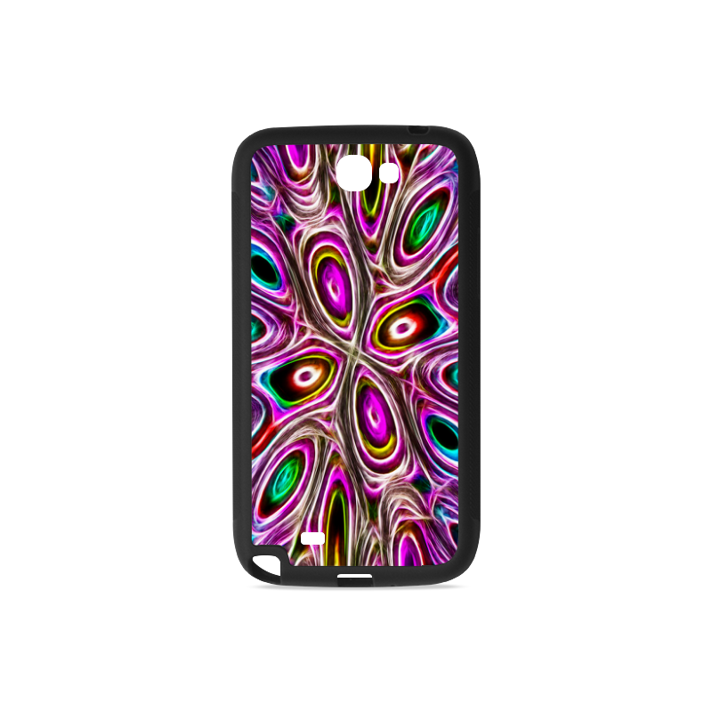 Peacock Strut I - Jera Nour Rubber Case for Samsung Galaxy Note 2