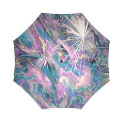 abstract fireworks Foldable Umbrella (Model U01)