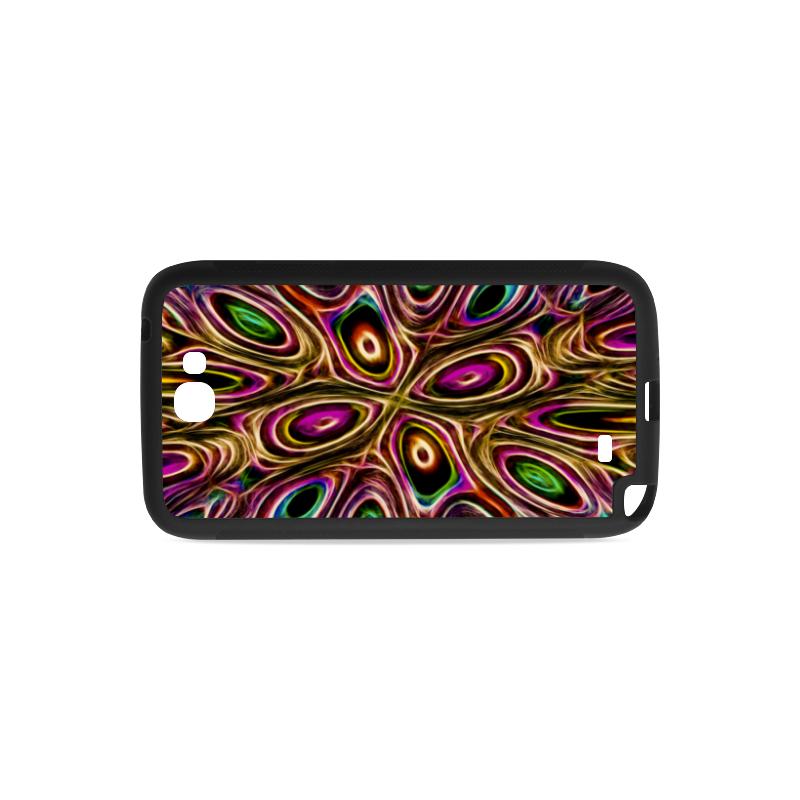 Peacock Strut II - Jera Nour Rubber Case for Samsung Galaxy Note 2