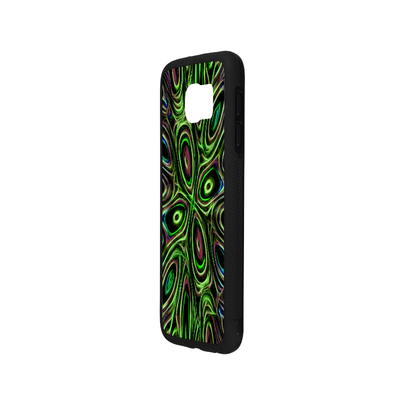 Peacock Strut III - Jera Nour Rubber Case for Samsung Galaxy S6