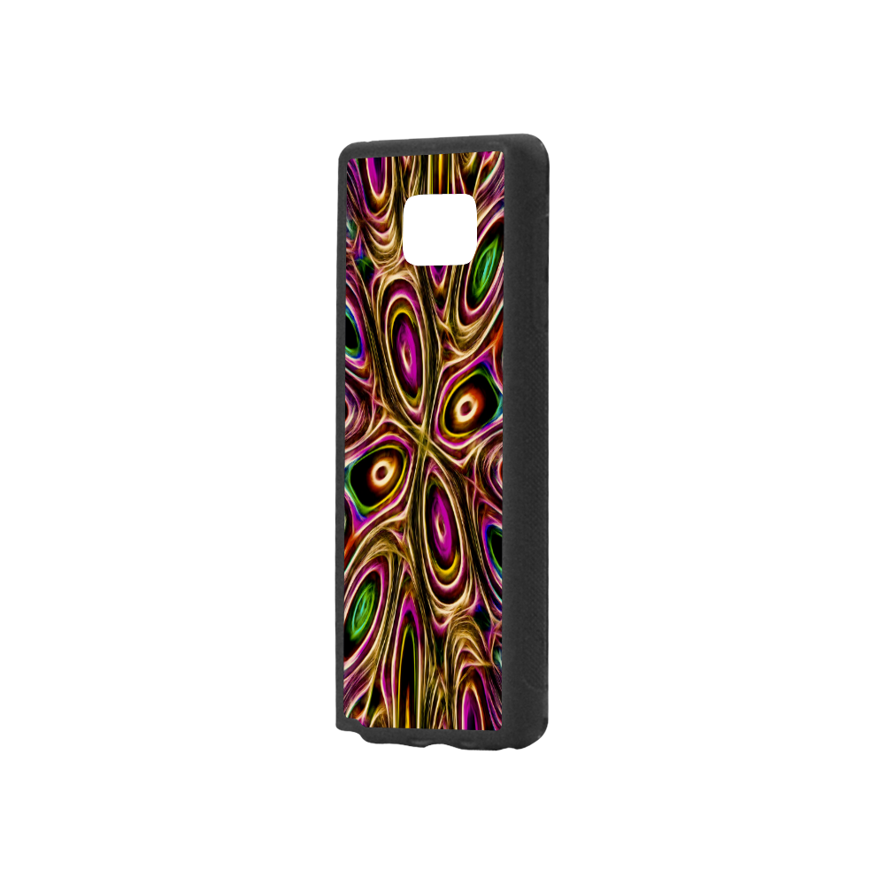 Peacock Strut II - Jera Nour Rubber Case for Samsung Galaxy Note5