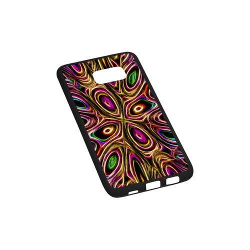 Peacock Strut II - Jera Nour Rubber Case for Samsung Galaxy S6 edge+