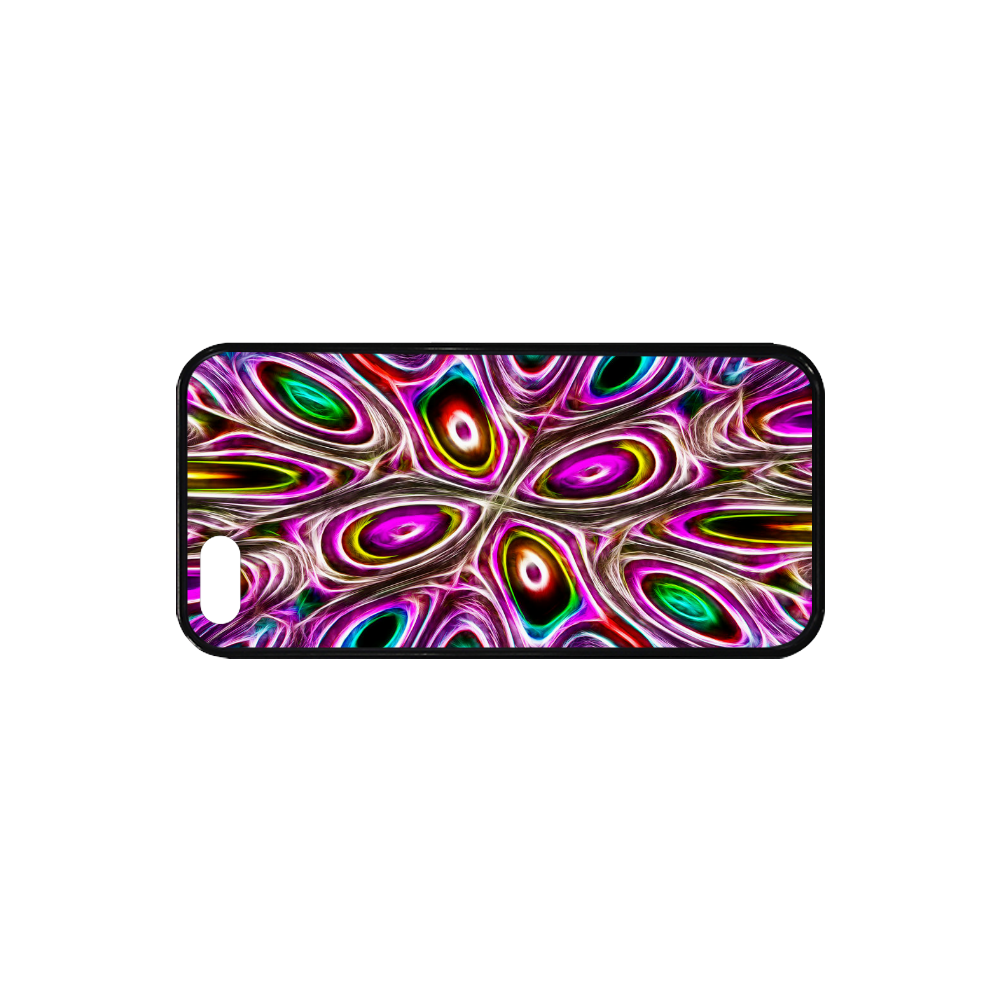 Peacock Strut I - Jera Nour Rubber Case for iPhone SE