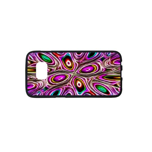 Peacock Strut I - Jera Nour Rubber Case for Samsung Galaxy S7 edge