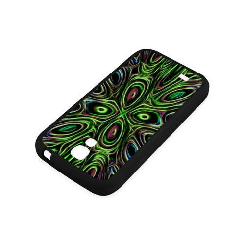 Peacock Strut III - Jera Nour Rubber Case for Samsung Galaxy S4