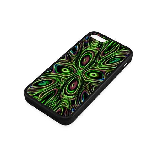 Peacock Strut III - Jera Nour Rubber Case for iPhone 5c
