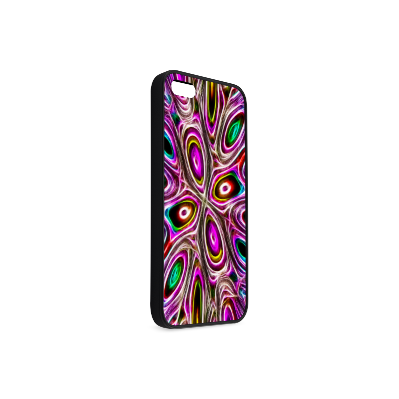 Peacock Strut I - Jera Nour Rubber Case for iPhone 5/5s