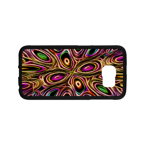 Peacock Strut II - Jera Nour Rubber Case for Samsung Galaxy S6