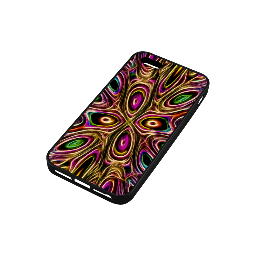 Peacock Strut II - Jera Nour Rubber Case for iPhone SE