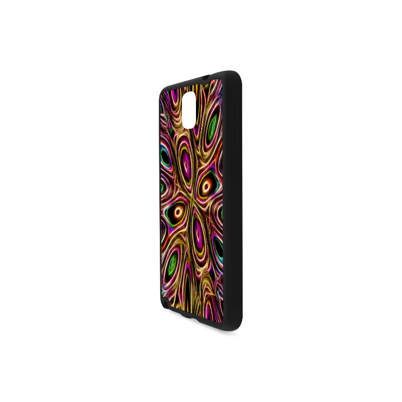 Peacock Strut II - Jera Nour Rubber Case for Samsung Galaxy Note 3