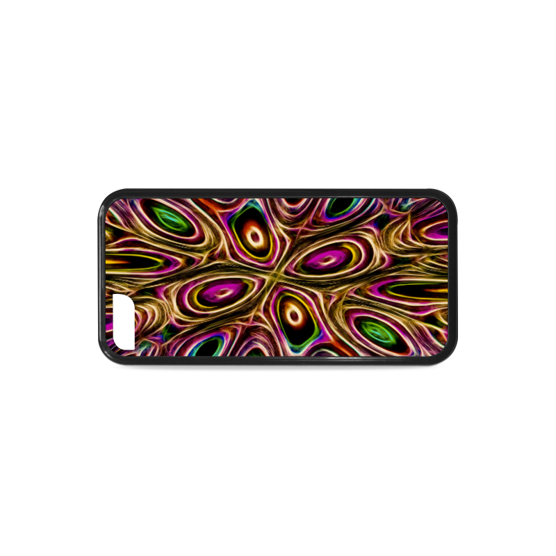 Peacock Strut II - Jera Nour Rubber Case for iPhone 5c