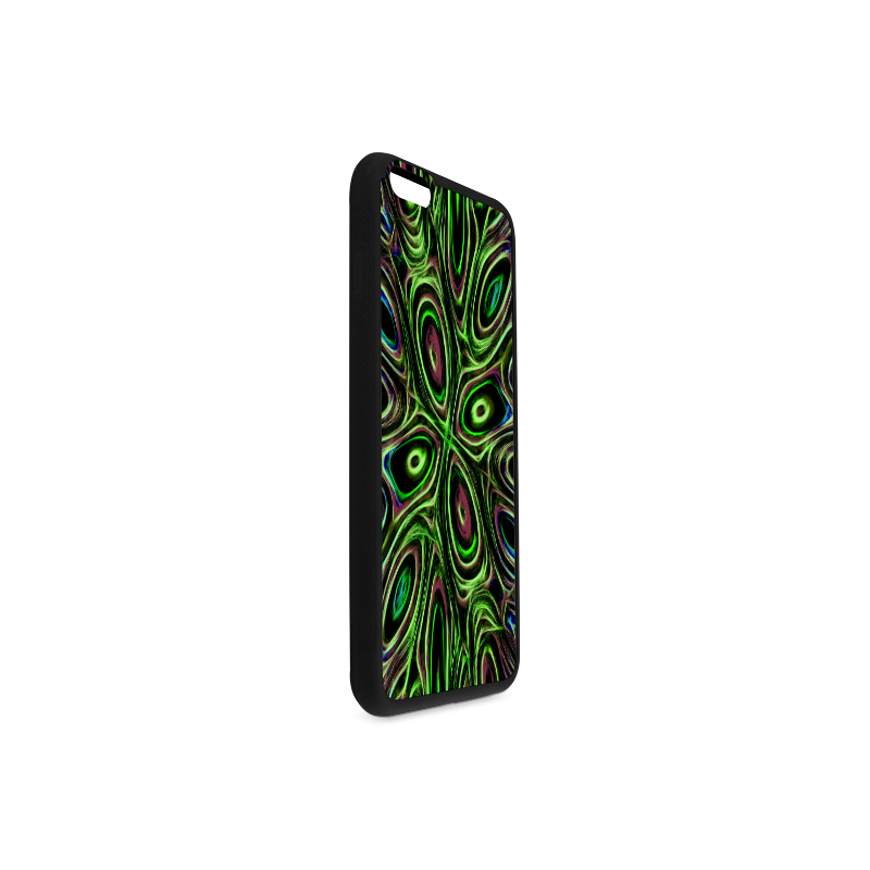 Peacock Strut III - Jera Nour Rubber Case for iPhone 6/6s Plus