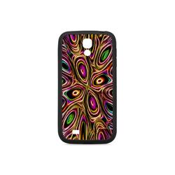 Peacock Strut II - Jera Nour Rubber Case for Samsung Galaxy S4