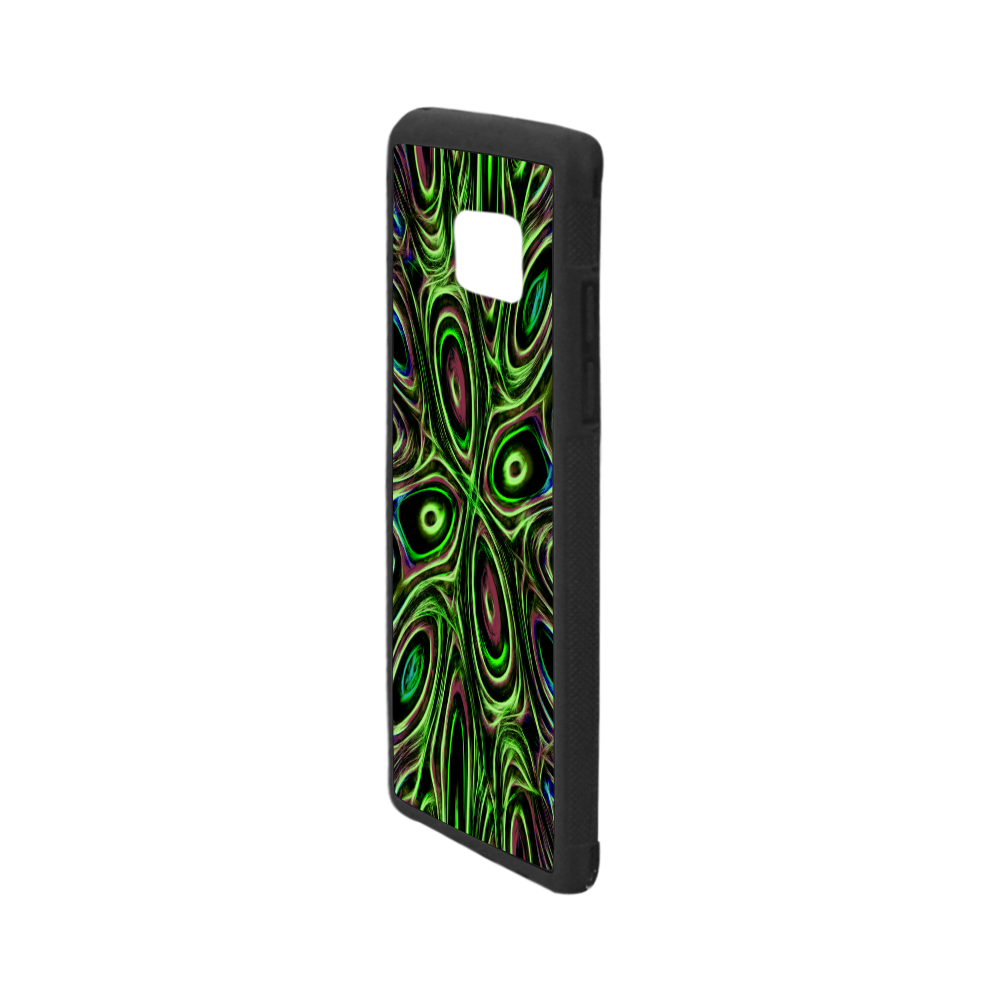 Peacock Strut III - Jera Nour Rubber Case for Samsung Galaxy Note7