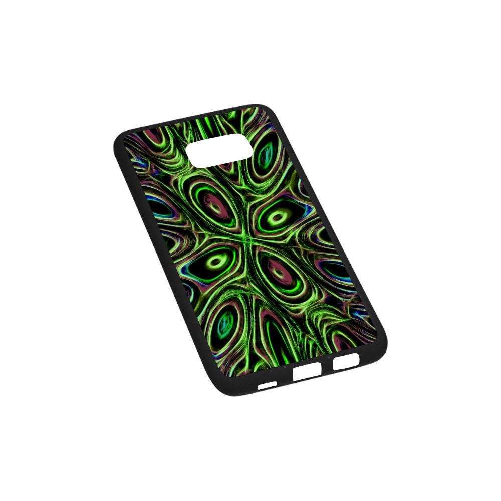 Peacock Strut III - Jera Nour Rubber Case for Samsung Galaxy S6 edge+