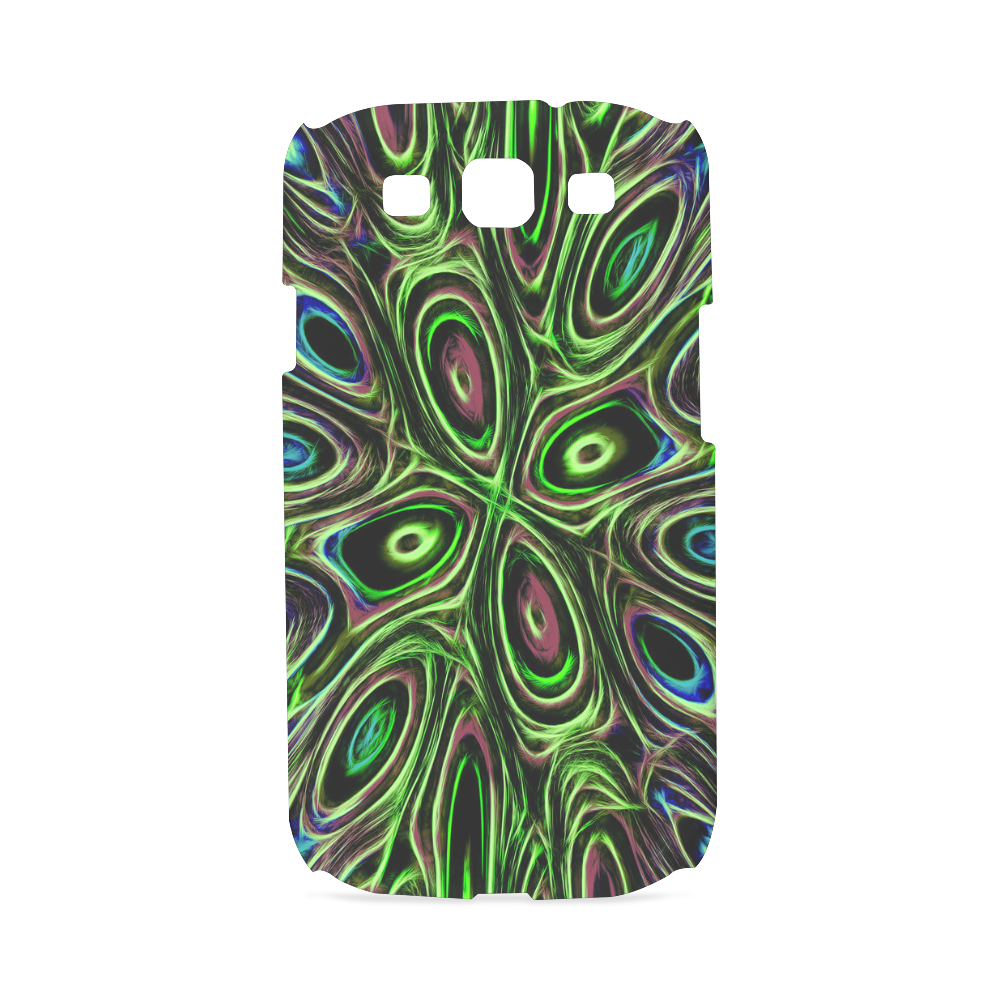 Peacock Strut III - Jera Nour Hard Case for Samsung Galaxy S3