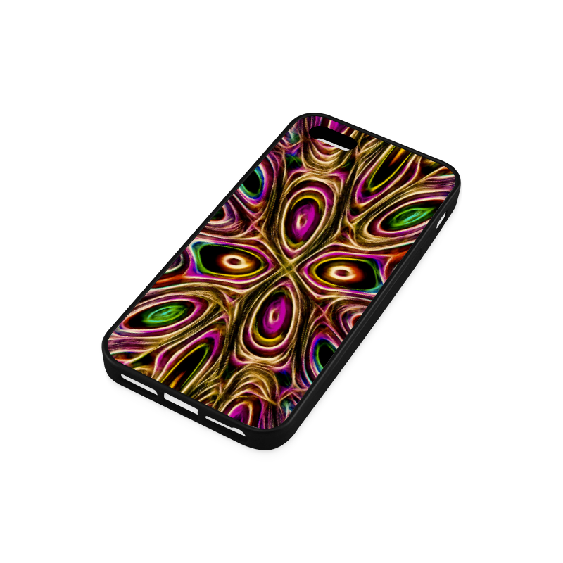 Peacock Strut II - Jera Nour Rubber Case for iPhone 5/5s