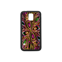 Peacock Strut II - Jera Nour Rubber Case for Samsung Galaxy S5